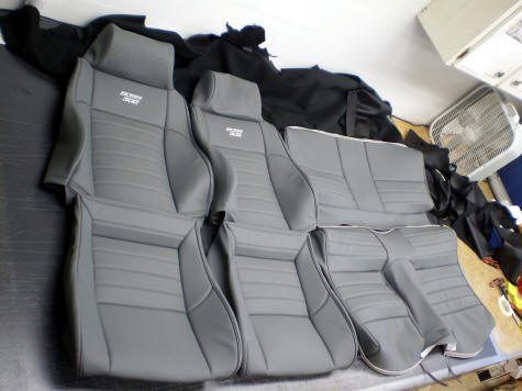 Fiero Seats In 1960s Mustang And Camaro