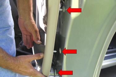 Pt Cruiser Doors Install