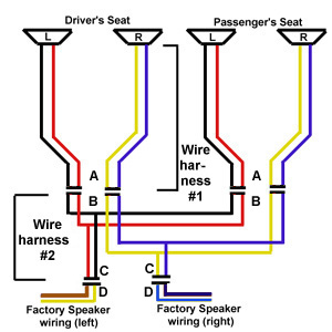 fiero speaker holes rh mrmikes com wiring diagram for car speakers to amp