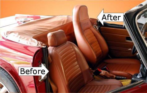 Miata Seats In A Triumph TR6